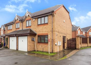 Thumbnail 3 bed semi-detached house for sale in Berwick Drive, Stenson Fields, Derby