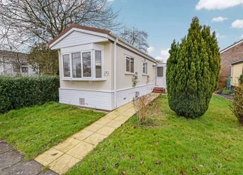 Thumbnail 2 bed detached bungalow to rent in Denmead Caravan Park, Dando Road, Denmead, Waterlooville