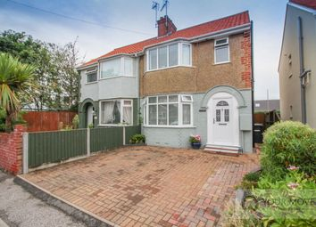 Thumbnail 3 bed semi-detached house for sale in Saxon Road, Lowestoft