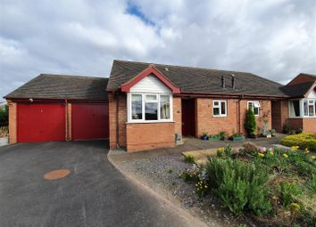 Thumbnail 2 bed semi-detached bungalow for sale in Wallis Close, Thurcaston, Leicester