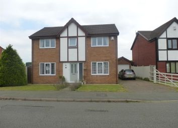 Thumbnail 4 bed detached house to rent in Withington Close, Northwich