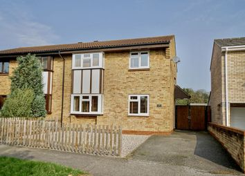Thumbnail 3 bedroom semi-detached house for sale in Grenville Way, Eaton Socon, St. Neots