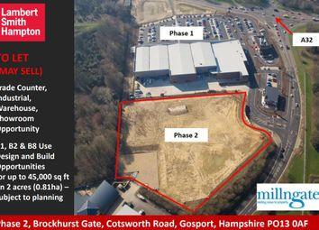 Thumbnail Retail premises for sale in Plot B Phase 2 Brockhurst Gate, Cotsworth Road, Gosport, Hampshire