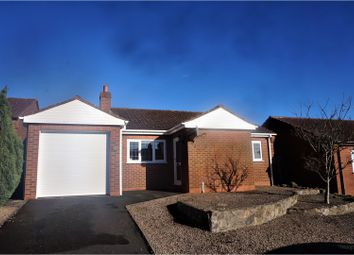 Thumbnail 2 bed detached bungalow for sale in Titterstone Close, Clee Hill, Nr Ludlow