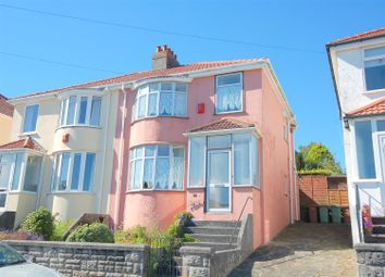 Thumbnail 2 bed semi-detached house for sale in Bickham Road, St Budeaux, Plymouth