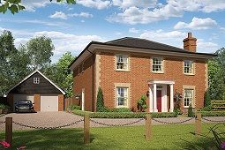Thumbnail 4 bed detached house for sale in Ashe Road, Tunstall, Woodbridge