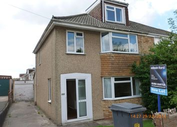 Thumbnail 3 bed semi-detached house to rent in Milton Road, Yate, Bristol