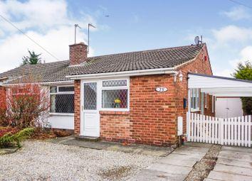 Eastholme Drive, York YO30. 2 bed semi-detached bungalow for sale
