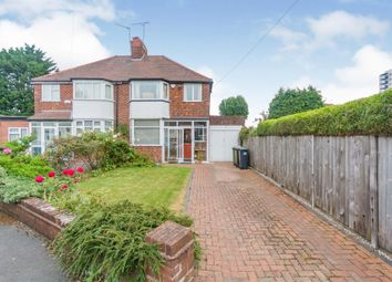 Thumbnail 3 bed semi-detached house for sale in Broadway, Shirley, Solihull