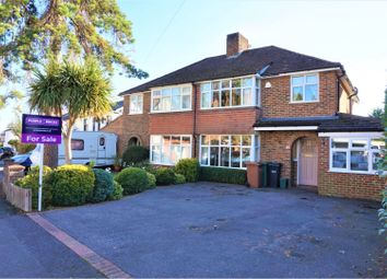 Thumbnail 4 bed semi-detached house for sale in Warren Road, Reigate