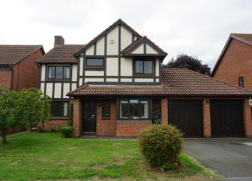 Thumbnail 4 bed detached house for sale in Robinson Way, Hinckley