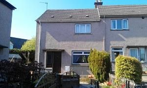 Thumbnail 2 bed semi-detached house to rent in Woodend Place, Scone, Perth