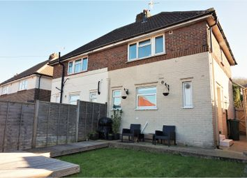 Thumbnail 2 bed semi-detached house for sale in Stonecross Road, Brighton
