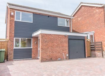 Thumbnail 4 bed detached house for sale in Rowse Close, Rugby