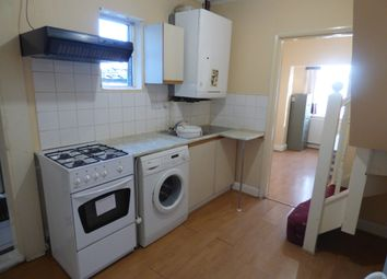 Thumbnail 1 bed flat to rent in Wood Side Close, Wembley