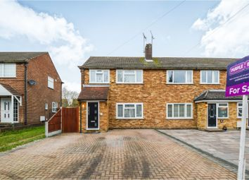 Thumbnail 3 bed semi-detached house for sale in Woodland Avenue, Brentwood