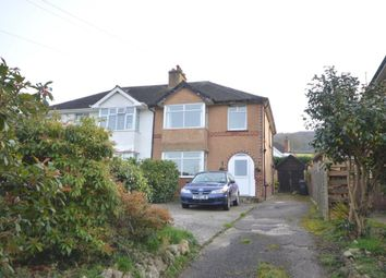 Thumbnail 3 bed semi-detached house for sale in Fortescue Road, Sidmouth, Devon