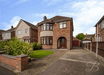 Thumbnail 3 bed detached house for sale in Royce Avenue, Hucknall, Nottingham