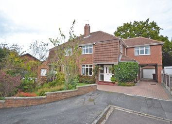 Thumbnail 4 bed semi-detached house for sale in Woolgreaves Drive, Sandal, Wakefield
