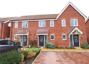 Thumbnail 2 bed terraced house for sale in Oak Road, Dereham