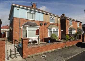 Thumbnail 3 bed semi-detached house for sale in Brampton Place, North Shields, Tyne And Wear