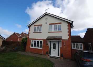 4 bed detached house for sale in Falcon Court, Fallowfield, Ashington NE63