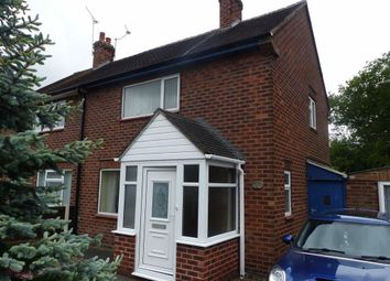 Thumbnail 2 bed semi-detached house to rent in Elm Close, Crewe