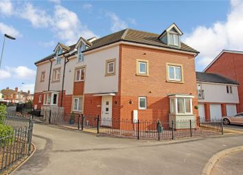 Thumbnail 3 bed town house for sale in Onyx Crescent, Thurmaston, Leicester