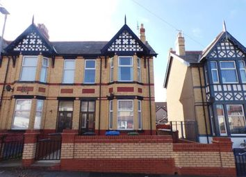 Thumbnail 4 bed end terrace house for sale in Lake Avenue, Rhyl, Denbighshire, North Wales