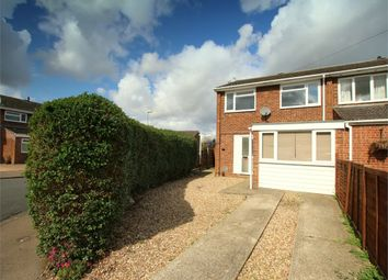 Thumbnail 3 bed end terrace house for sale in Windsor Close, Eynesbury, St. Neots
