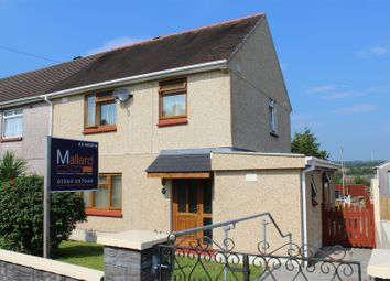 Thumbnail 3 bed semi-detached house for sale in Brynhafod, Tycroes, Ammanford