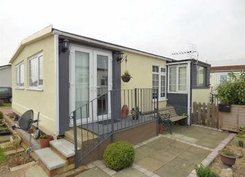 Thumbnail 1 bed mobile/park home for sale in Kingsmead Park, Allhallows, Rochester