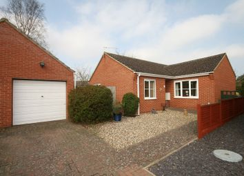 Thumbnail 3 bed detached bungalow for sale in Eden Close, Attleborough