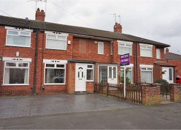 Thumbnail 2 bed terraced house for sale in Moorhouse Road, Hull