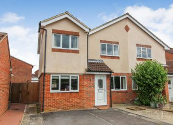 Thumbnail 3 bed semi-detached house for sale in Collins Close, Newbury