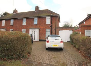 Thumbnail 3 bed semi-detached house to rent in Valley Road, Welwyn Garden City