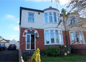 Thumbnail 4 bedroom semi-detached house for sale in Allensbank Road, Cardiff