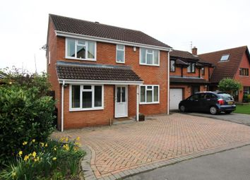 Thumbnail 4 bedroom detached house for sale in The Chase, Calcot, Reading