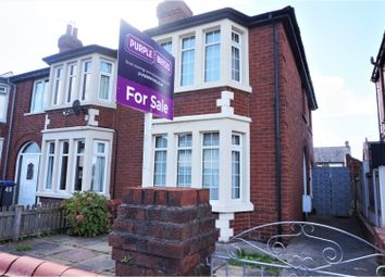 Thumbnail 3 bed semi-detached house for sale in Ascot Road, Blackpool