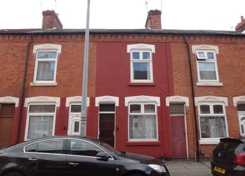 Thumbnail 3 bed terraced house for sale in Down Street, Leicester