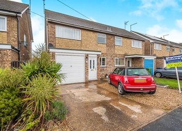 Thumbnail 3 bedroom semi-detached house for sale in Guildenburgh Crescent, Whittlesey, Peterborough