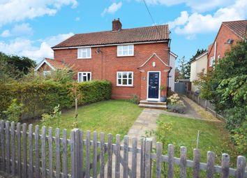 Thumbnail 3 bed semi-detached house for sale in Aldeburgh Road, Friston, Saxmundham