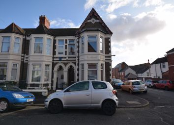 Thumbnail 3 bedroom end terrace house to rent in Tewkesbury Street, Cathays, Cardiff