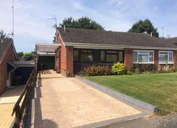 Thumbnail 2 bed semi-detached bungalow for sale in Barnack Drive, Warwick
