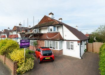 Thumbnail 3 bed semi-detached house for sale in Pragnell Road, London