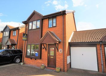 Thumbnail 3 bed detached house for sale in Goodwood Close, Stretton, Burton-On-Trent