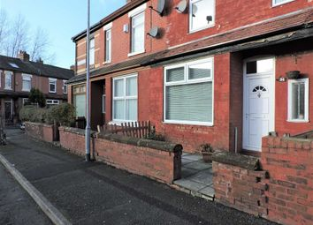 Thumbnail 2 bed terraced house for sale in Greenway Avenue, Levenshulme, Manchester