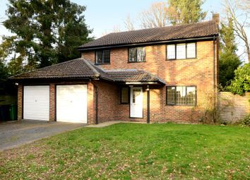 Thumbnail 4 bed detached house to rent in Merrywood Park, Camberley