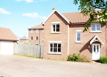 Thumbnail 3 bed detached house to rent in Crocus Street, Wymondham