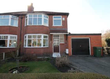 Thumbnail 3 bed semi-detached house for sale in Trevor Road, Urmston, Manchester
